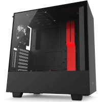 NZXT H500i Black-Red