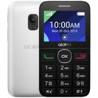 Alcatel OT-2008G Black-Pure White