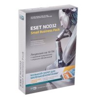 ESET NOD32 NOD32-SBP-NS-CARD-1-10