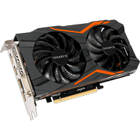 GigaByte nVidia GeForce GTX 1050 Ti 4Gb GV-N105TG1 GAMING-4GD